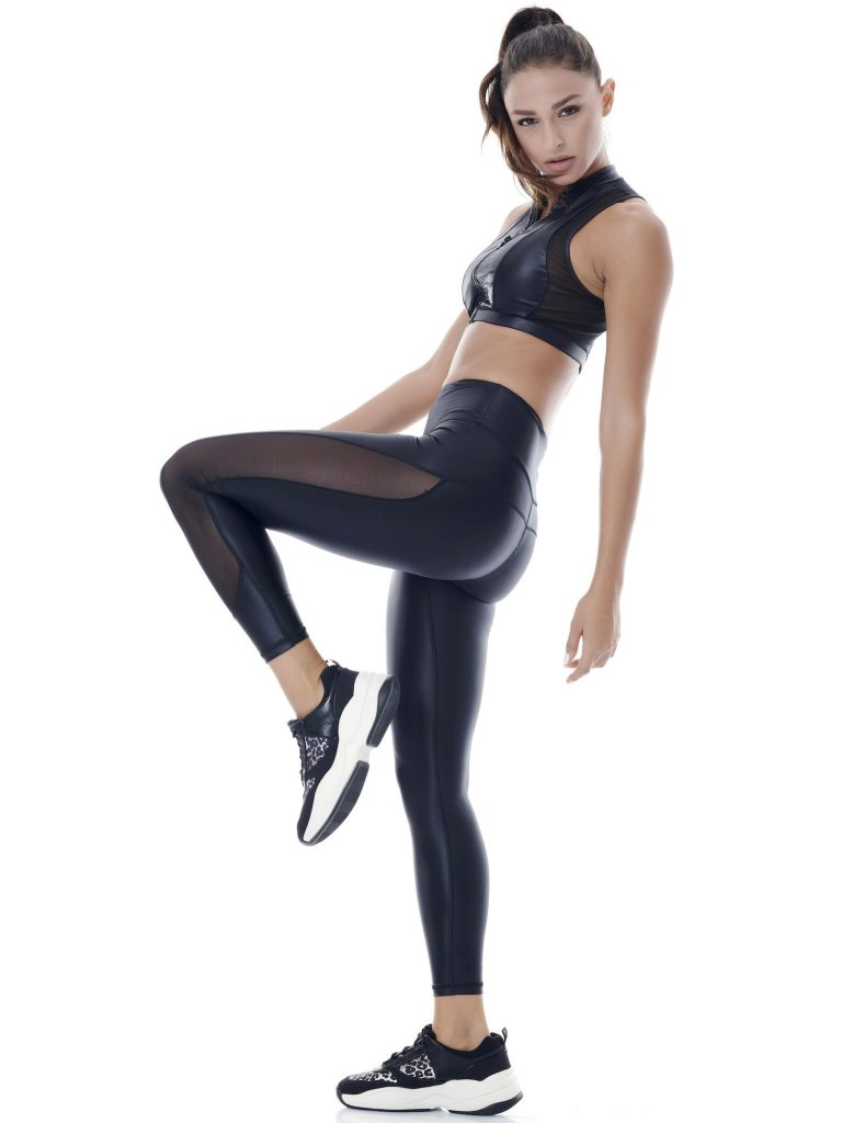 Dazzle Twice Mesh Leggings